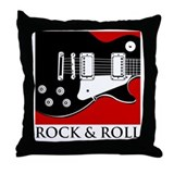 Rock & Roll Throw Pillow