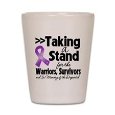 Taking a Stand Lupus Shot Glass