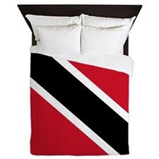 Trinidad and Tobago Flag Queen Duvet