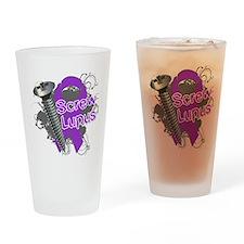 Screw Lupus Drinking Glass