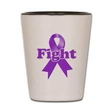 Fight Lupus Ribbon Shot Glass