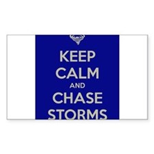Keep Calm and Chase Storms Decal