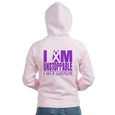 Unstoppable Survivor Lupus Zipped Hoodie