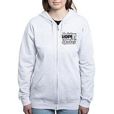 Inspire Hope Lupus Awareness Zip Hoody
