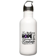 Inspire Hope Lupus Awareness Water Bottle