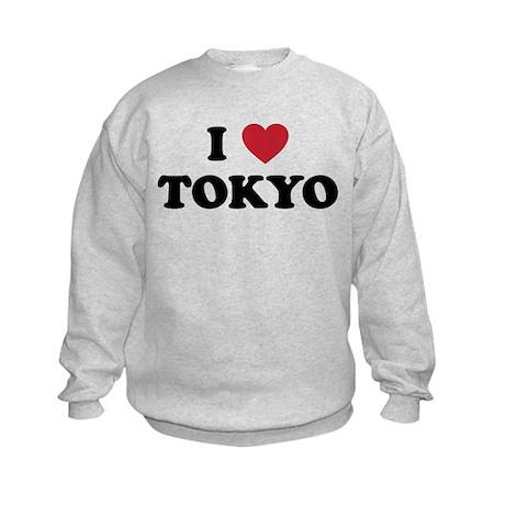 I Love Tokyo Kids Sweatshirt