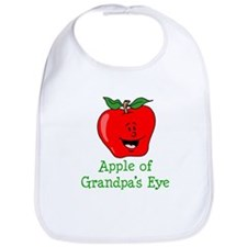 Apple Of Grandpas Eye Bib