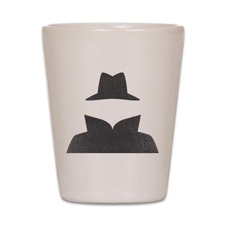 Secret Agent Shot Glass