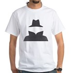 Secret Agent Spry Spy Guy White T-Shirt