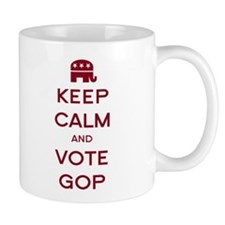 Keep Calm and Vote GOP Mug