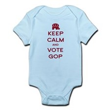 Keep Calm and Vote GOP Infant Bodysuit