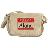 Hello My name is Alana Messenger Bag