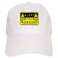 caution-witchwork-fixed1.png Baseball Cap