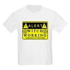 caution-witchwork-fixed1.png T-Shirt