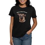 Man's Best Friend Women's Dark T-Shirt