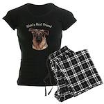 Man's Best Friend Women's Dark Pajamas