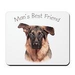 Man's Best Friend Mousepad