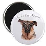 Man's Best Friend Magnet