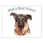 Man's Best Friend Small Poster