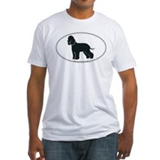 Irish Water Spaniel Silhouette Shirt