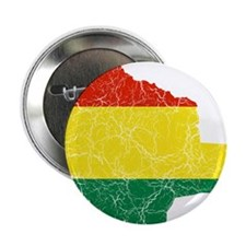 "Bolivia Flag And Map 2.25"" Button"