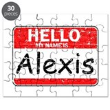 Hello My name is Alexis Puzzle