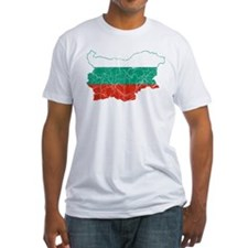 Bulgaria Flag And Map Shirt