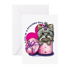 Life is a Precious Gift Greeting Cards (Pk of 20)