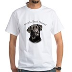 Man's Best Friend White T-Shirt