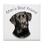 Man's Best Friend Tile Coaster