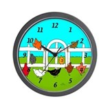 Hens Wall Clock