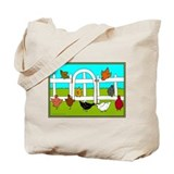Hens Tote Bag