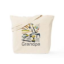 Grandpa, Tools. Tote Bag
