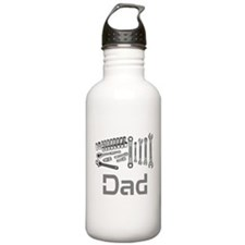 Dad, Tools, Wrenches. Water Bottle