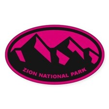 Zion National Park Decal