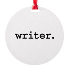 writer.jpg Ornament