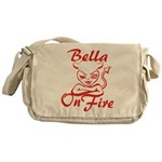 Bella On Fire Messenger Bag