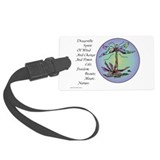 dragon fly II.png Luggage Tag