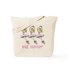 Big Sister, Ballet Dancers. Tote Bag