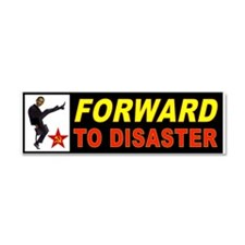 OBAMA FORWARD Car Magnet 10 x 3