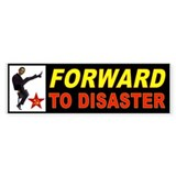 OBAMA FORWARD Bumper Sticker