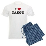 I Love Taegu pajamas