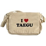 I Love Taegu Messenger Bag