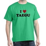 I Love Taegu T-Shirt