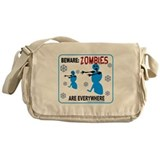 ZOMBIES ARE EVERYWHERE Messenger Bag