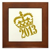 2013 crown Framed Tile
