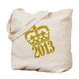 2013 crown Tote Bag