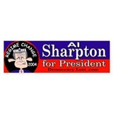 Al Sharpton Bumper Bumper Sticker