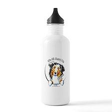 Australian Shepherd IAAM Water Bottle