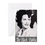 The Black Dahlia Greeting Cards (Pk of 20)